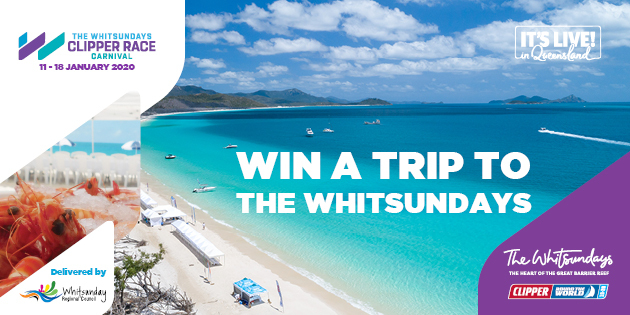 Win a trip to The Whitsundays